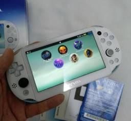 PS Vita Slim Sony 3.68 Desbloqueado H-Encore cartão de memória 8gb