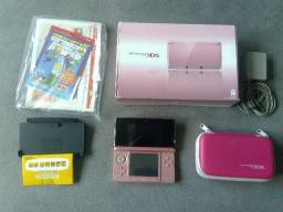 Nintendo 3DS Rosa Pearl Pink Completo
