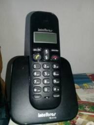 Telefone fixo sem fio intelbras