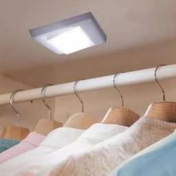 Luminária portátil de led para armários, gavetas, garagem, etc