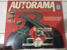 Autorama estrela Senna as da largada