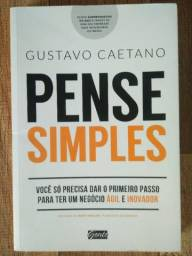 Livro Pense Simples - Gustavo Caetano