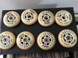 8 rodas de patins hyper