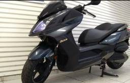Scooter Kimco Downtown 300i Cinza - 2018