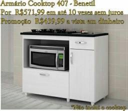 Armário Cooktop 407 Benetil