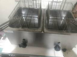 Fritadeira e prensa c/chapa 400.00