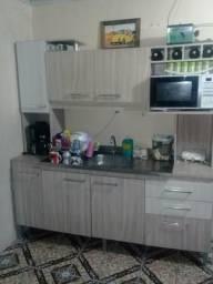 Cozinha Compacta com Pia de Inix