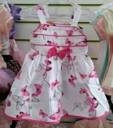 Vestido para Bebê de 6 meses a 24 meses