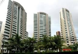 Ilhas do Parque, apartamento projetado e semi mobiliado, 3 suítes, 4 vagas, lazer completo