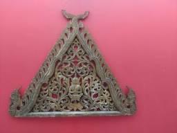 Entalhado de madeira indiano