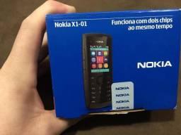 Nokia X1-01 novo na caixa