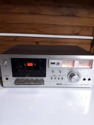 Tape Deck Akai CS-702-D - Raridade, negociável.
