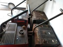 Lote máquina solda no estado eletrodo e mig mag - desocupando barracão