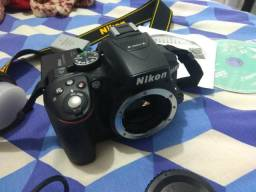 Corpo câmera profissional Nikon d5300