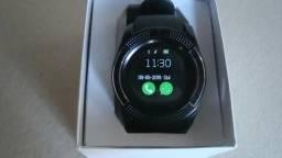 Relógio SmartWatch Unissex novo, + película protetora de riscos