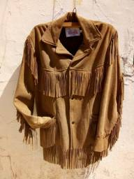 Jaqueta de couro country