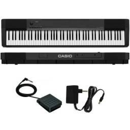 031eeb7f8ce Casio Piano Digital Cdp135 Produto Novo Loja Fisica