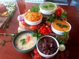 Caldos Gourmet - Caldo - 18 Sabores Diferenciados - Para Bares, Lanchonetes, Festas, etc