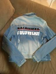 Linda jaqueta jeans polo original