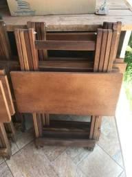 Mesa Dobrável 4 Cadeiras Entrega em Toda Campo Grande