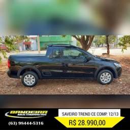 Saveiro CE TREND 12/13 R$ 28.990,00