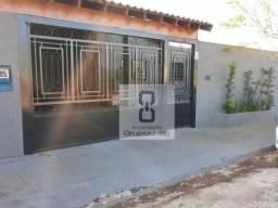 Casa com 3 dormitórios à venda, 140 m² por R$ 220.000,00 - Residencial Parque da Flores -