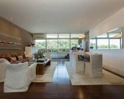 Apartamento lindíssimo com vista panorâmica para o Mar, Lagoa e Corcovado, em andar alto,