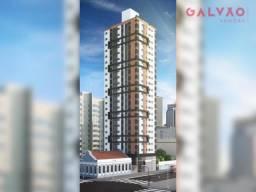 Apartamento à venda com 2 dormitórios em Centro, Curitiba cod:40407