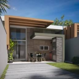 Residencial Solaris Ville - Casa com 2 suítes e 2 vagas, 83m² - Urucunema - Eusébio-CE