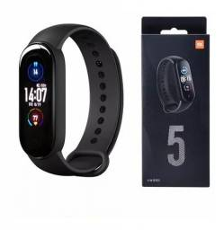 Smartwatch Xiaomi Mi Band 5 Preto Global - Novo Lacrado