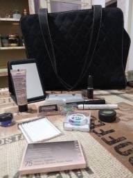Kit bolsa Mary Kay e maquiagens