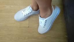 Tênis feminino branco