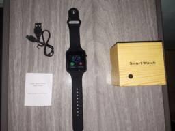 Relógio inteligente smart whatch a1 chip,Sd, câmera via Bluetooth