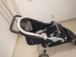 Carrinho de bebê Galzerano Cross + Bebê conforto