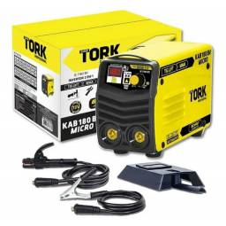 MAQUINA DE SOLDA TORK KAB 180 MICRO BOVOLT 110V/220V (R$800,00)