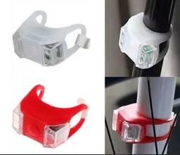 Kit de Sinalizadores para Bike em silicone