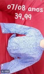 Camisas masculinas infantil novas.  Apenas venda, NÃO entrego
