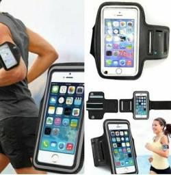 Braçadeira Capa Armband Porta Celular Universal Para Corrida