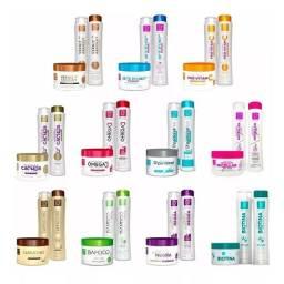 Kits 100% hidratação para todos os tipos de cabelos .