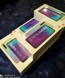 Celular Smartphone Redmi Note 8 Dual 64Gb Global Preto Xiaomi<br><br>