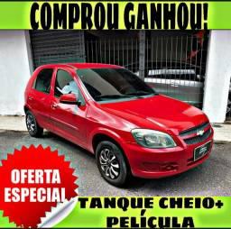 TANQUE CHEIO SO NA EMPORIUM CAR!!! CELTA 1.0 LT 2013 COM MIL DE ENTRADA