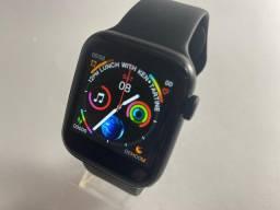 smartwatch W34 - pulseira fixa, notificações, exercícios físicos, chamadas.