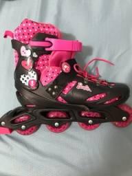 Patins roller da Barbie