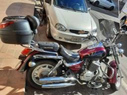 Moto custom 250cc com 6.0000 original
