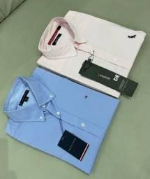 Título do anúncio: Camisa masculina manga longa da Tommy, Reserva e
