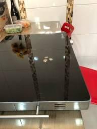 Título do anúncio: Mesa térmica em vidro temperado le cook