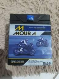 Bateria Moura 6ah nova nunca usada