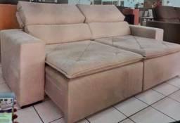 Sofa retratil semi novo