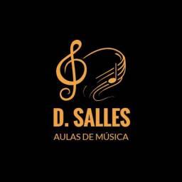 Título do anúncio: D. Salles - Aulas de Música - Piano, Teclado, Violão e Ukulele