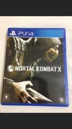 Título do anúncio: Mortal Kombat X Playstation 4 mídia física pouco uso